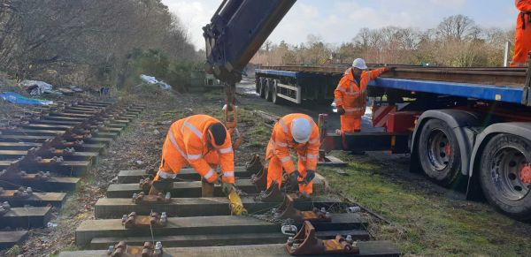 Rail retrieval - Brockenhurst