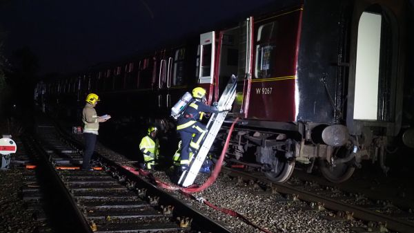 Exercise Train Wreck - Midsomer Norton Station