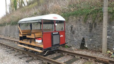 Wickham Trolley Ready for Action